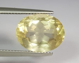 6.82 ct Wonderful Oval Cut Natural Scapolite