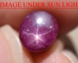 4.20 Ct Star Ruby CERTIFIED Beautiful Natural Unheated Untreated
