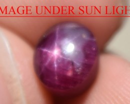 4.25 Ct Star Ruby CERTIFIED Beautiful Natural Unheated Untreated