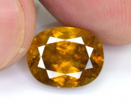 Certified 4.415 Ct Gorgeous Color Natural Titanite Sphene