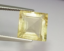 6.17 ct Exclusive Square Cut Natural Scapolite