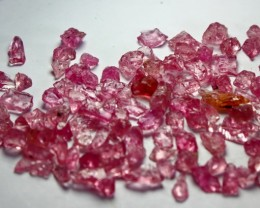 80 CT Natural - Unheated Pink Spinel Rough Lot