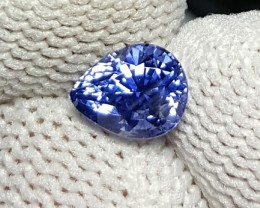 UNHEATED CERTIFIED 1.10 CTS NATURAL BEAUTIFUL VIBRANT STUNNING SAPPHIRE CEY