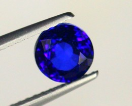 1.36Ct Natural VVS African Royal Blue Sapphire Gemstone