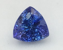 1.64 Cts Tanzanite Awesome Cut & Colour Faceted Gemstone Tn2