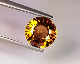 "3.29 ct ""IGI Certified"" Exclusive Round Cut Natural Zircon"