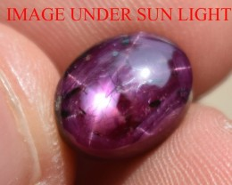 4.96 Ct Star Ruby CERTIFIED Beautiful Natural Unheated Untreated
