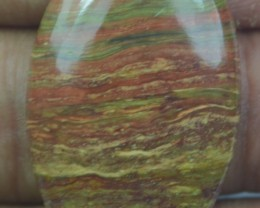 20.65 CT BEAUTIFUL STRIPED JASPER (NATURAL+UNTREATED) X32-142