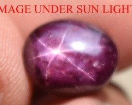 11.15 Ct Star Ruby CERTIFIED Beautiful Natural Unheated Untreated