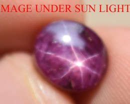 6.14 Ct Star Ruby CERTIFIED Beautiful Natural Unheated Untreated
