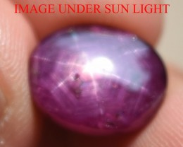 10.15 Ct Star Ruby CERTIFIED Beautiful Natural Unheated Untreated