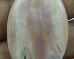Pink Opal Cabochon 47.25 Cts Beautiful Natural x11-19