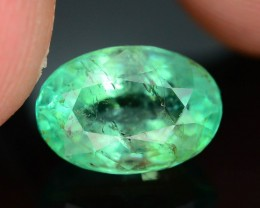 Gil Certified AAA Quality 2.01 ct Colombian Emerald SKU.7