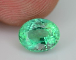 Gil Certified  AAA Quality 0.89 ct Colombian Emerald SKU.7