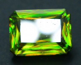 AAA Color 2.15 ct Chrome Sphene from Himalayan Range Skardu Pakistan SKU.16
