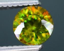 AAA Color 1.12 ct Chrome Sphene from Himalayan Range Skardu Pakistan SKU.16