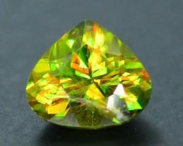 AAA Color 0.83 ct Chrome Sphene from Himalayan Range Skardu Pakistan SKU.16