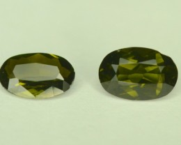 Rare Collectors Gem 2 Pcs ~  1.15 ct Natural Kornerupine