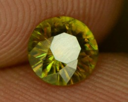 Color Change   Chrome Sphene from Himalayan Range
