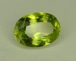 1.25 ct Natural Green Peridot