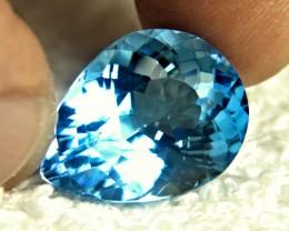 24.83 Carat Brazilian Blue VVS Topaz - Gorgeous