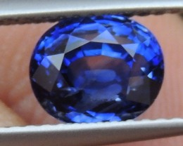 2.26cts,  Sapphire,  Pure Blue,  Heat Only,  Clean