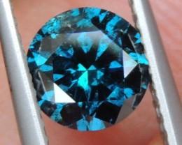 1.08cts, Blue Diamond,  GIL Certified,