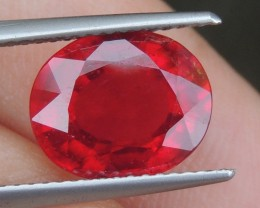 5.22cts,  Ruby, AAA Quality,  Treated,