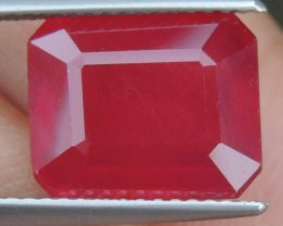 6.63cts,  Ruby, AAA Quality,  Treated,