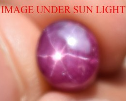 4.38 Ct Star Ruby CERTIFIED Beautiful Natural Unheated Untreated