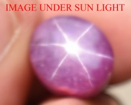 10.80 Ct Star Ruby CERTIFIED Beautiful Natural Unheated Untreated