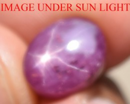 8.27 Ct Star Ruby CERTIFIED Beautiful Natural Unheated Untreated