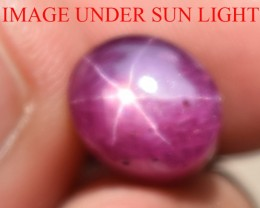 8.46 Ct Star Ruby CERTIFIED Beautiful Natural Unheated Untreated