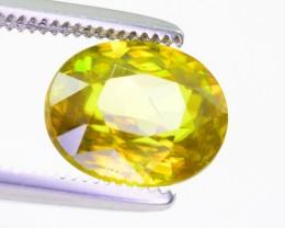2.05 Ct gorgeous Color Natural Titanite Sphene ~ RA