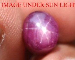 5.36 Ct Star Ruby CERTIFIED Beautiful Natural Unheated Untreated