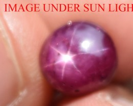 5.70 Ct Star Ruby CERTIFIED Beautiful Natural Unheated Untreated
