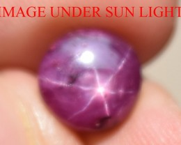 4.65 Ct Star Ruby CERTIFIED Beautiful Natural Unheated Untreated