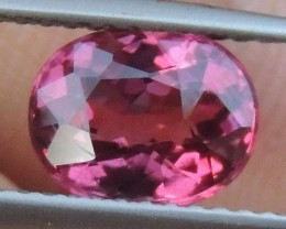 2.00cts  Pink Malaya Garnet,  Open Sweet Color,