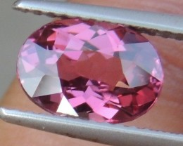 2.45cts  Pink Malaya Garnet,  Open Sweet Color,