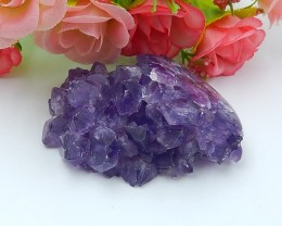 253.5ct Hot Sale Nugget Amethyst Pendant (18071414)