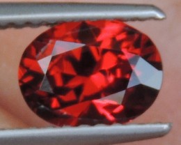 1.39cts  Spessartite,  Untreated Vivid Stone,  Clean