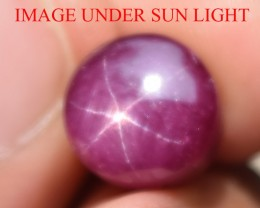 9.76 Ct Star Ruby CERTIFIED Beautiful Natural Unheated Untreated