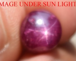 4.64 Ct Star Ruby CERTIFIED Beautiful Natural Unheated Untreated