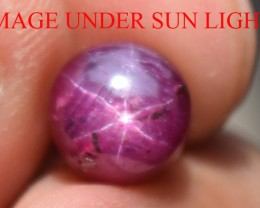 4.15 Ct Star Ruby CERTIFIED Beautiful Natural Unheated Untreated