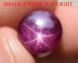 8.76 Ct Star Ruby CERTIFIED Beautiful Natural Unheated Untreated