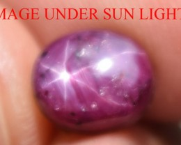 4.36 Ct Star Ruby CERTIFIED Beautiful Natural Unheated Untreated