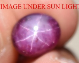 4.42 Ct Star Ruby CERTIFIED Beautiful Natural Unheated Untreated