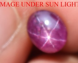 2.97 Ct Star Ruby CERTIFIED Beautiful Natural Unheated Untreated