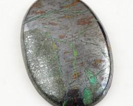 Genuine 70.00 Cts Oval Shape Pyrite Untreated Gem