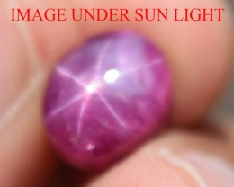 6.36 Ct Star Ruby CERTIFIED Beautiful Natural Unheated Untreated